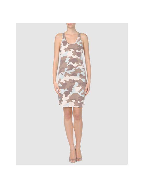 MET | Женское Хаки Короткое Платье