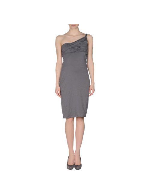 Velvet | Женское Серое Короткое Платье