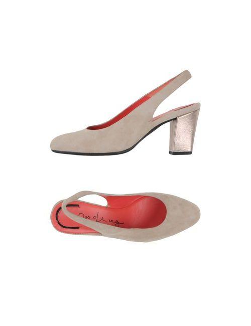 Pas De Rouge | Женские Бежевые Туфли