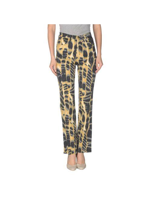 Trussardi Jeans   Женские Жёлтые Повседневные Брюки