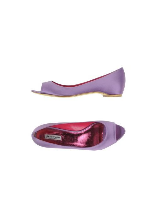 Gianna Meliani Luxury | Женские Фиолетовые Туфли