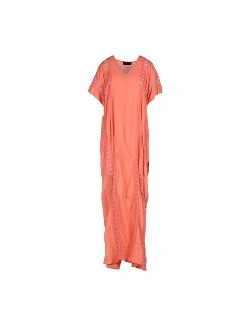 Jo No Fui | Женское Оранжевое Длинное Платье