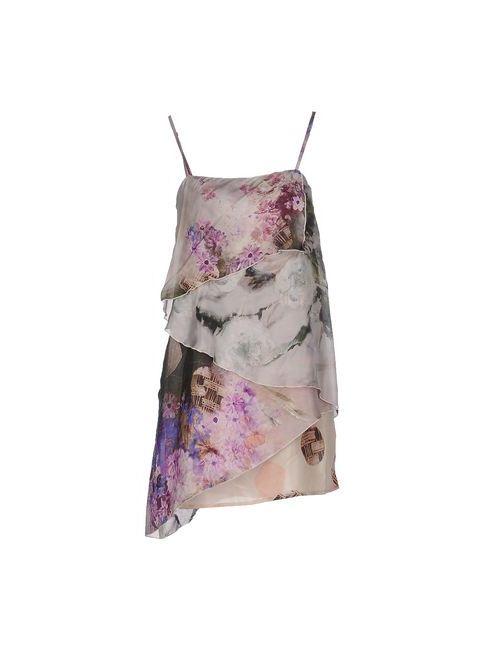 Pianurastudio | Женское Серое Короткое Платье
