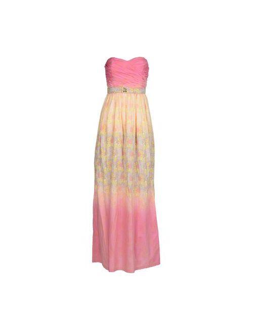Manoush | Женское Фиолетовое Длинное Платье