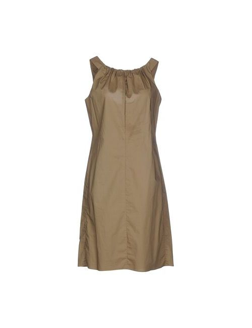 Aspesi | Женское Зелёное Короткое Платье