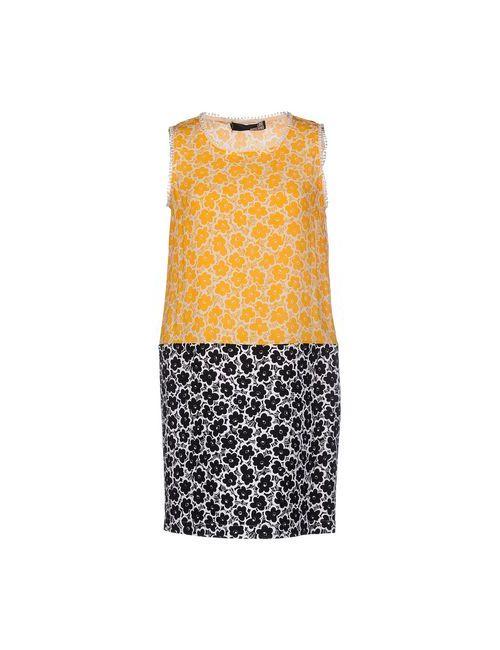 Love Moschino | Женское Оранжевое Короткое Платье