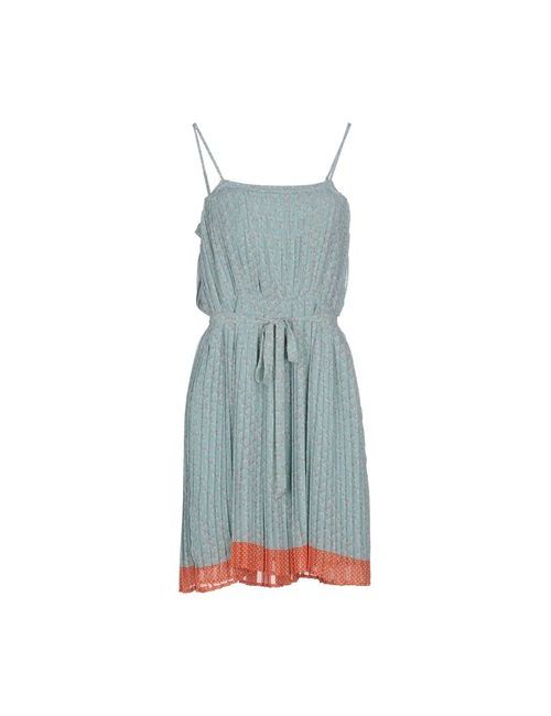 Paul & Joe Sister | Женское Зелёное Короткое Платье