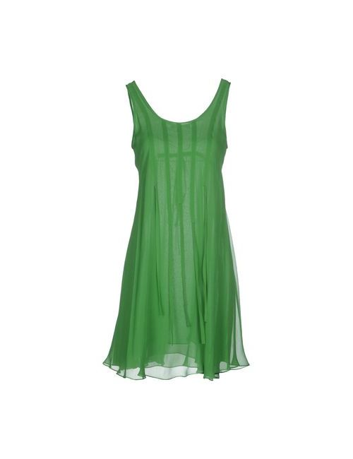 Plein Sud Jeanius | Женское Зелёное Короткое Платье
