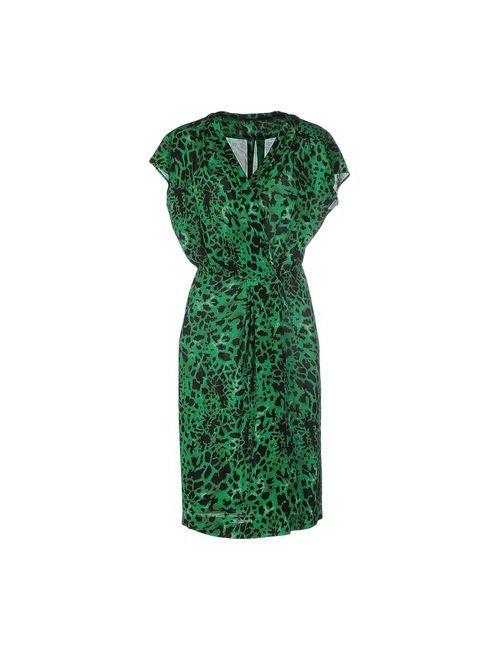 Les Copains | Женское Зелёное Платье До Колена