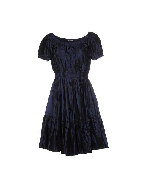 Miu Miu | Женское Синее Короткое Платье