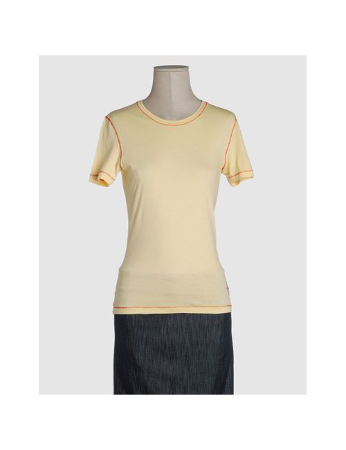 Waimea Classic   Женская Жёлтая Футболка С Короткими Рукавами