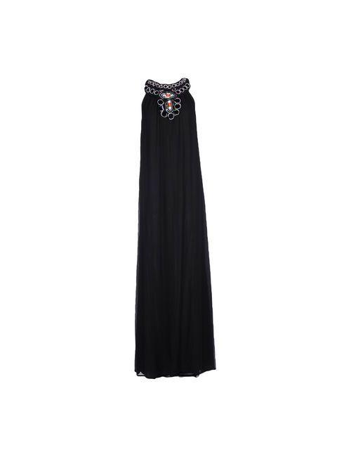 Annarita N. | Женское Чёрное Длинное Платье