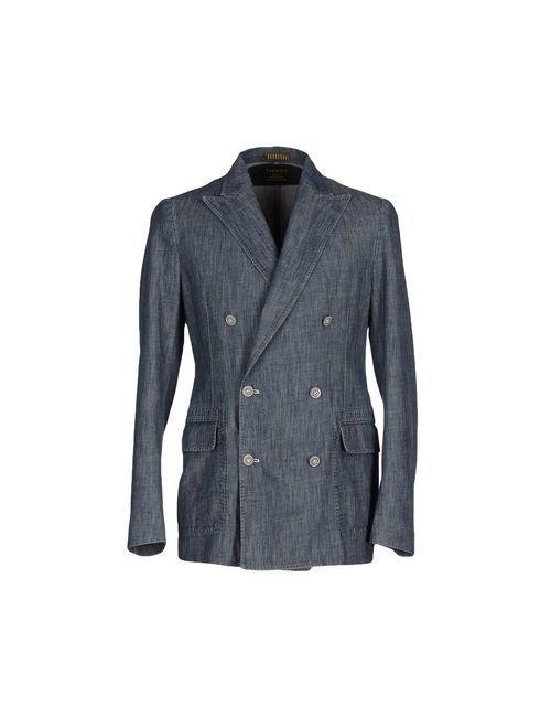 Piombo | Мужская Синяя Джинсовая Верхняя Одежда