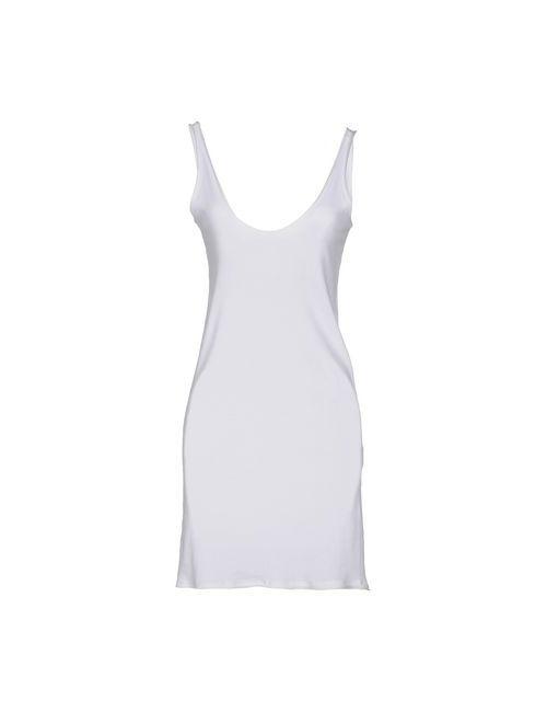 Paolo Pecora | Женское Белое Короткое Платье