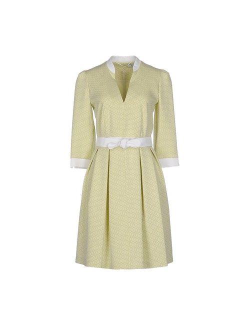 Axara Paris | Женское Зелёное Короткое Платье
