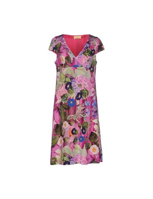 Ean 13 | Женское Фуксия Платье До Колена
