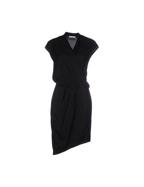 Clió | Женское Чёрное Короткое Платье