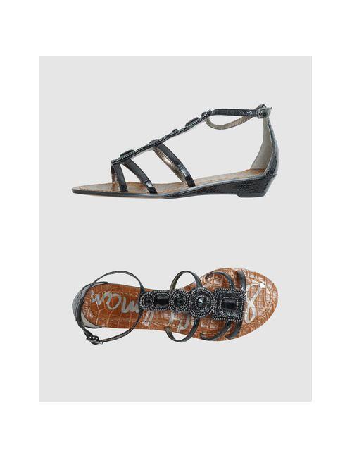 Sam Edelman | Женская Чёрная Обувь На Танкетке