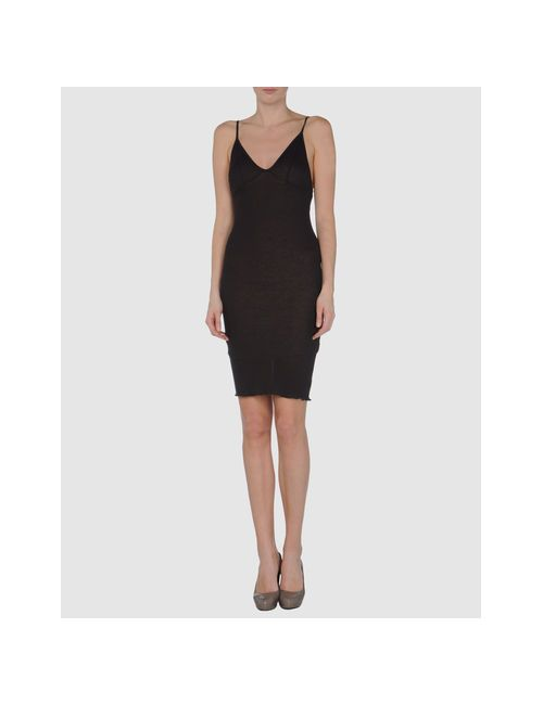 Aviù | Женское Коричневое Короткое Платье