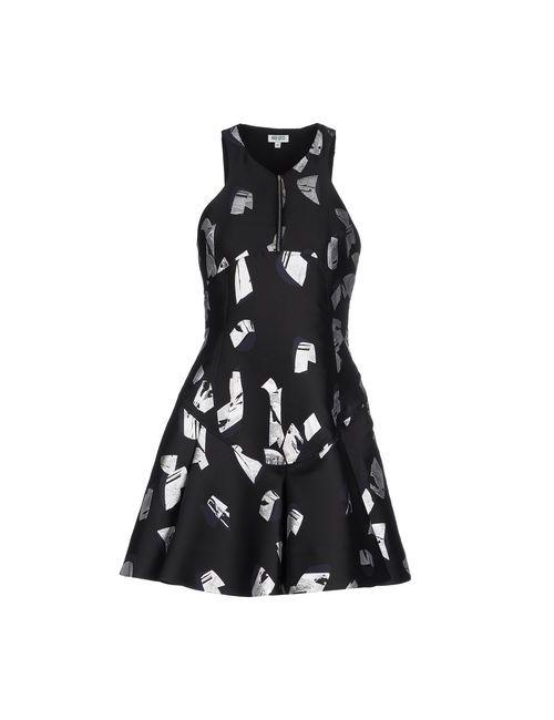 Céline | Женское Чёрное Короткое Платье
