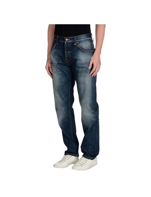 Nudie Jeans Co | Мужские Синие Джинсовые Брюки