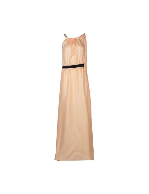 PINKO TAG | Женское Розовое Длинное Платье