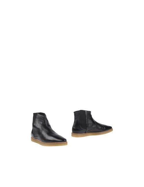 Logan | Женские Чёрные Полусапоги И Высокие Ботинки