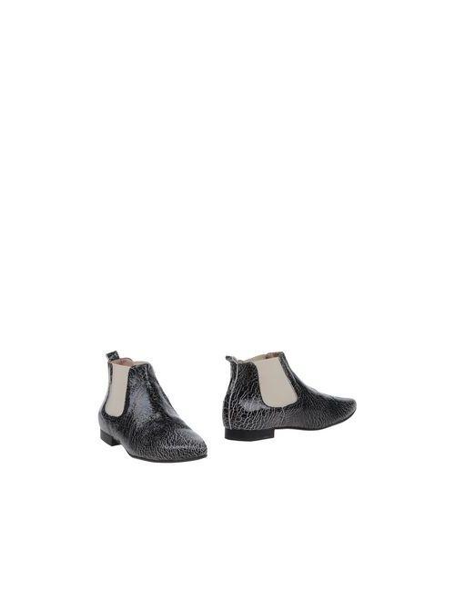 TIPE E TACCHI   Женские Чёрные Полусапоги И Высокие Ботинки
