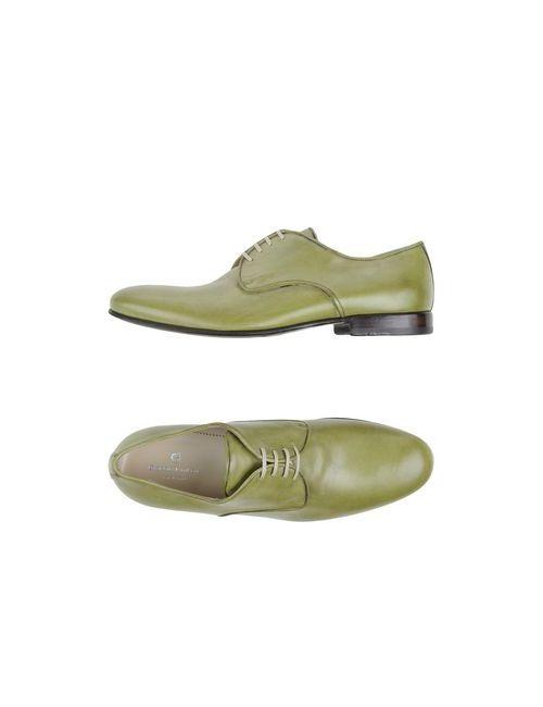 Giorgio Fabiani | Мужская Зелёная Обувь На Шнурках