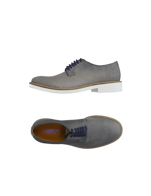 Thompson   Мужская Серая Обувь На Шнурках
