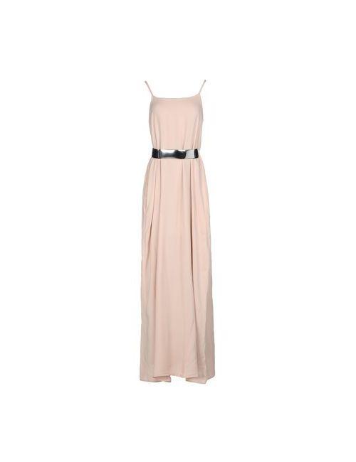 MBYMAIOCCI | Женское Бежевое Длинное Платье