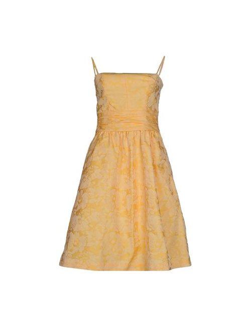 Hoss Intropia   Женское Оранжевое Короткое Платье