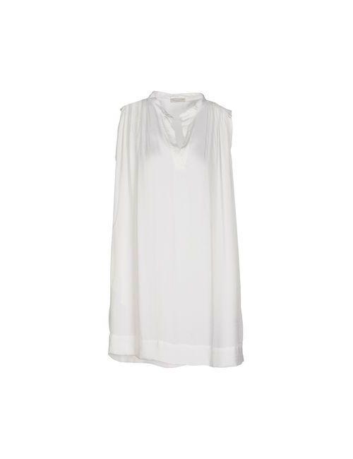 Roberto Collina | Женское Белое Короткое Платье