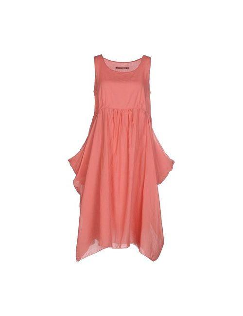 European Culture | Женское Розовое Платье До Колена