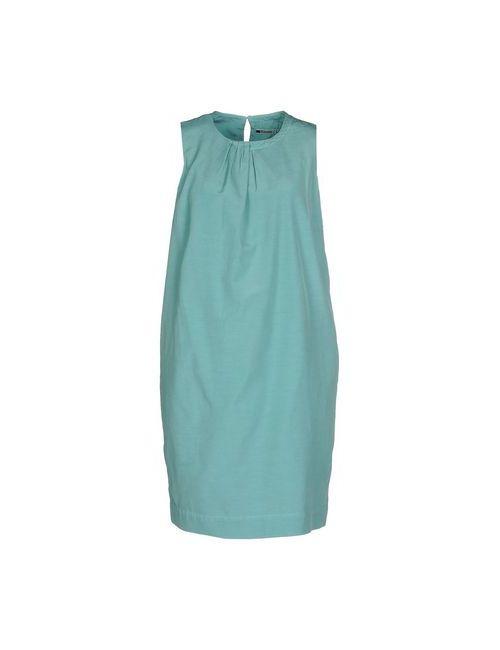 European Culture | Женское Зелёное Короткое Платье