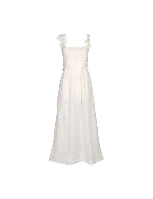 Mariella Rosati | Женское Белое Длинное Платье