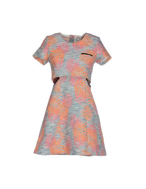 Dress Gallery | Женское Зелёное Короткое Платье
