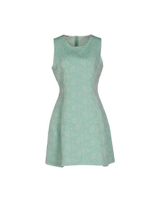 Pinko | Женское Зелёное Короткое Платье