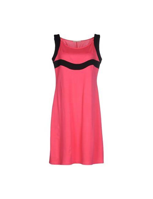 Maria Bellentani | Женское Розовое Короткое Платье