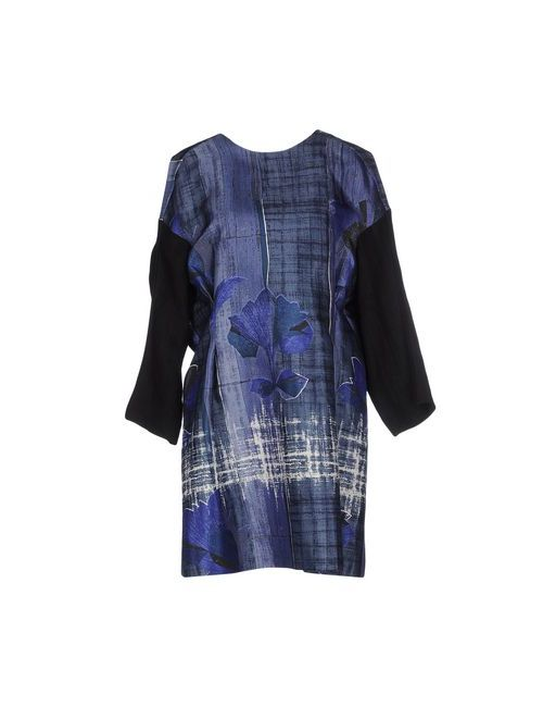 Marni | Женское Синее Короткое Платье