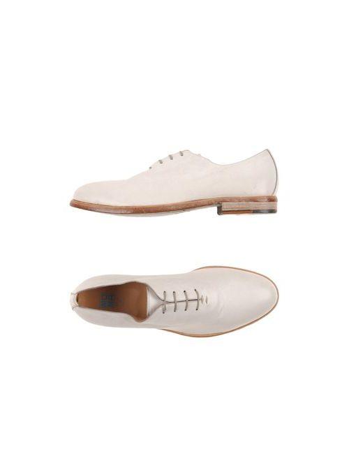 Moma | Мужская Белая Обувь На Шнурках