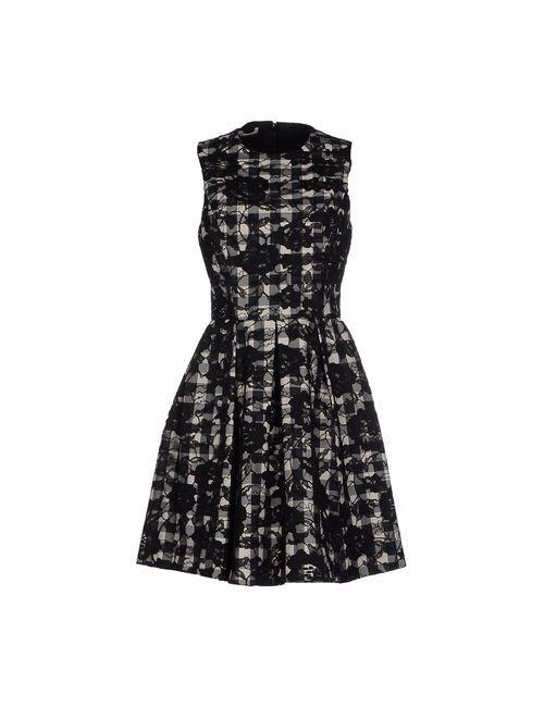 Michael Kors | Женское Чёрное Короткое Платье