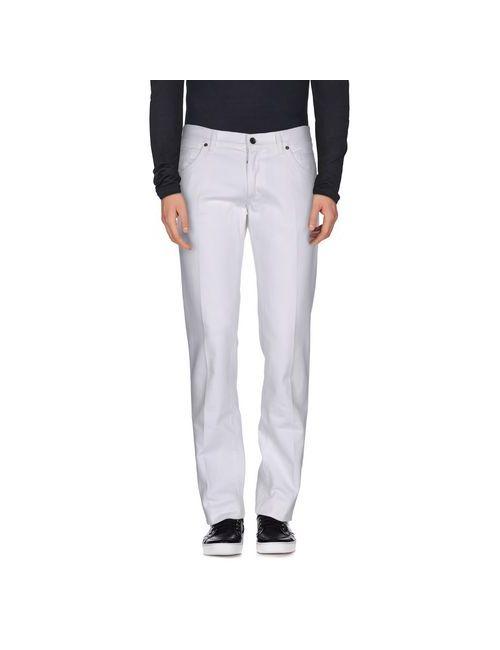 Dolce & Gabbana | Мужские Белые Джинсовые Брюки