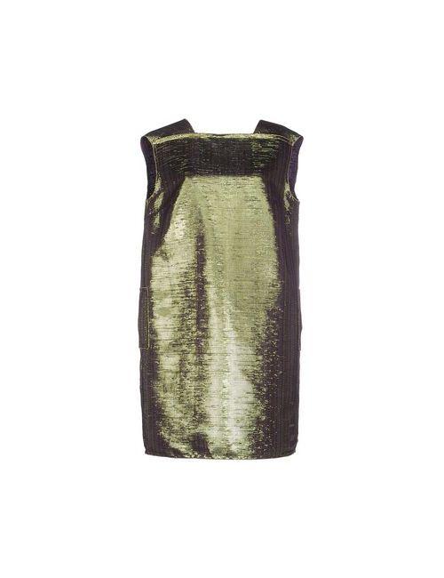 Lanvin   Женское Фиолетовое Короткое Платье