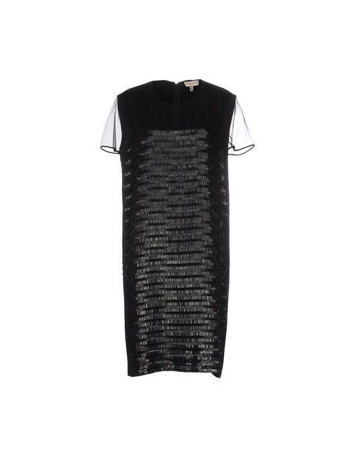 Burberry London   Женское Чёрное Короткое Платье
