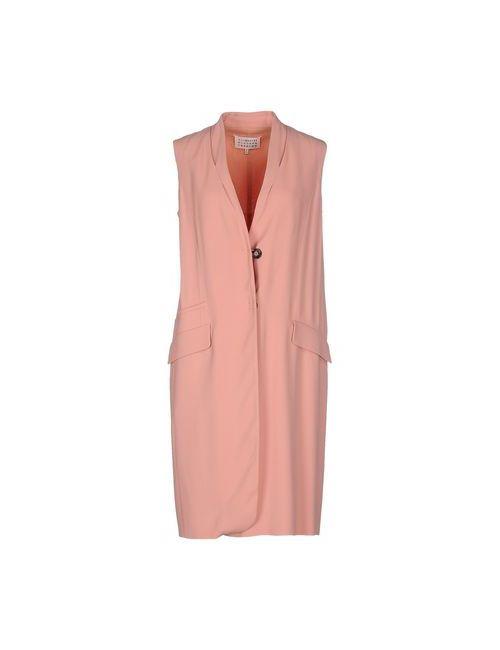 Maison Margiela | Женское Розовое Платье До Колена
