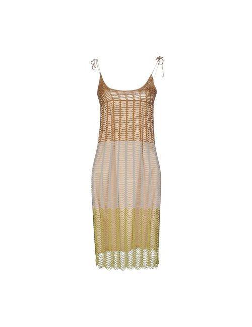 3.1 Phillip Lim | Женское Бирюзовое Короткое Платье