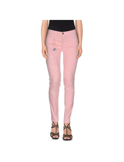 Blugirl Jeans | Женские Розовые Джинсовые Брюки