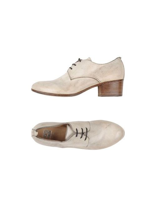Moma   Женская Белая Обувь На Шнурках