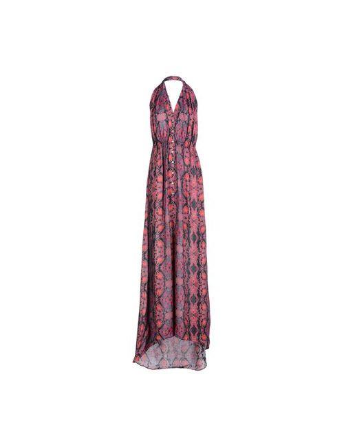 SuperTrash | Женское Фиолетовое Длинное Платье